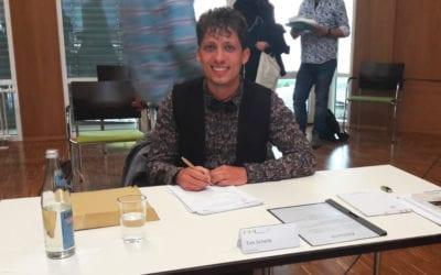 Gemeinderat Tim Schenk vereidigt