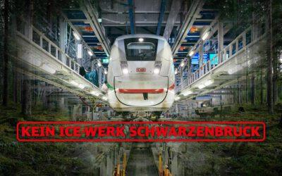 """Die Bunte Liste unterstützt die BI """"Kein ICE-Werk-Schwarzenbruck"""""""
